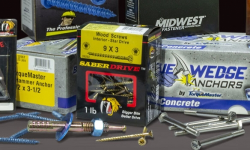 Our brands of Construction Fasteners, Nuts and Bolts, and More!